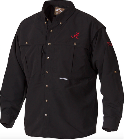Alabama Wingshooter's Shirt L/S