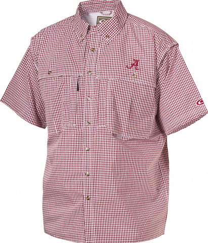 Alabama Plaid Wingshooter's Shirt Short Sleeve