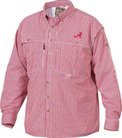 Alabama Plaid Wingshooter's Shirt Long Sleeve