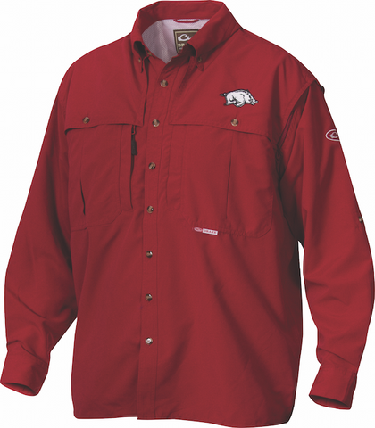 Arkansas Cotton Wingshooter's Shirt Long Sleeve