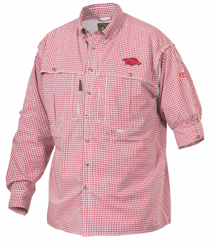 Arkansas Plaid Wingshooter's Shirt Long Sleeve