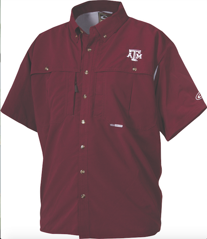 Texas A&M Wingshooter's Shirt Short Sleeve