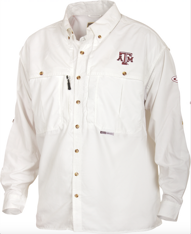 Texas A&M Wingshooter's Shirt L/S