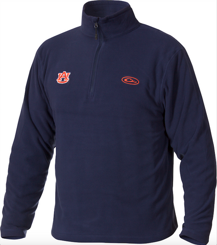 Auburn Camp Fleece 1/4 Zip Pullover