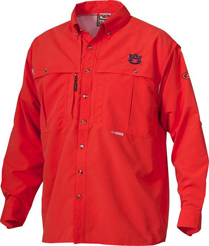 Auburn Wingshooter's Shirt Long Sleeve