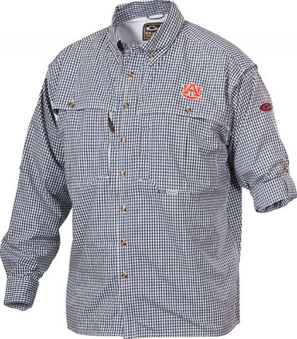 Auburn Plaid Wingshooter's Shirt Long Sleeve