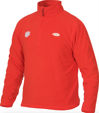 Clemson Camp Fleece 1/4 Zip Pullover