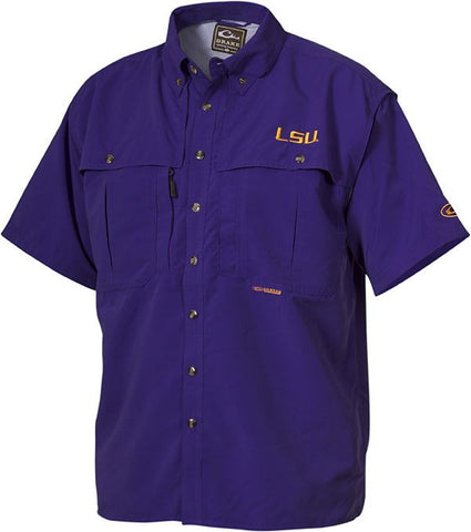 LSU Wingshooter's Shirt Short Sleeve
