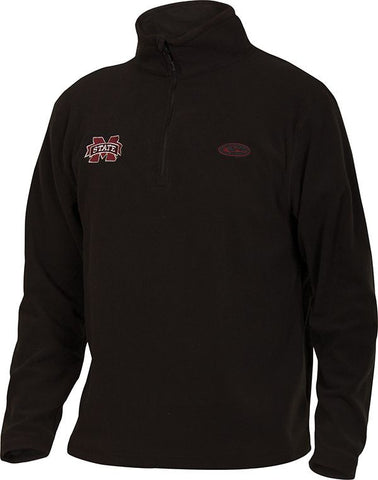 Mississippi State Camp Fleece 1/4 Zip Pullover