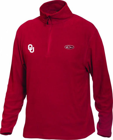 Oklahoma Camp Fleece 1/4 Zip Pullover