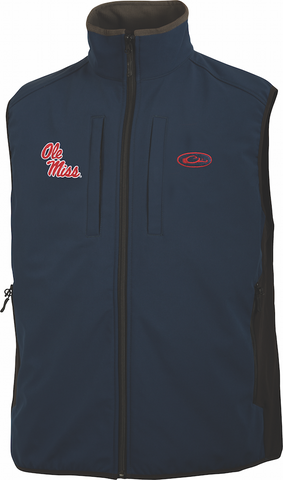 Ole Miss Windproof Tech Vest