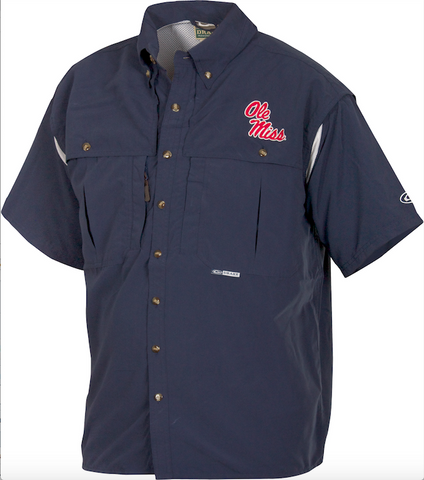 Ole Miss Wingshooter's Shirt Short Sleeve