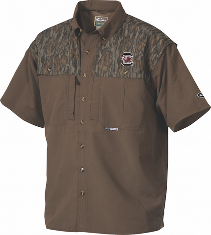 South Carolina Camo Wingshooter's Shirt S/S