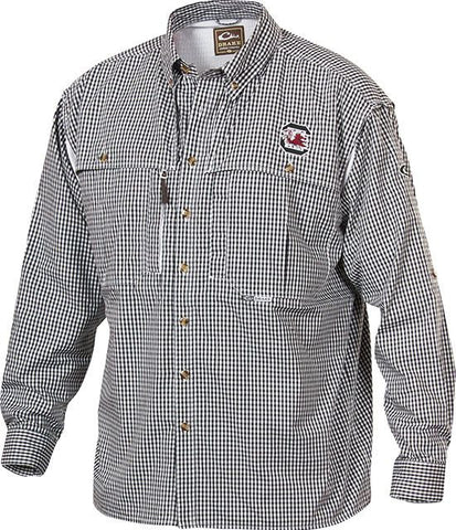 South Carolina Plaid Wingshooter's Shirt Long Sleeve