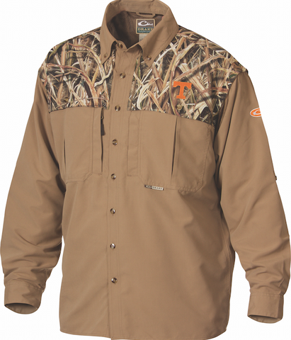 Tennessee Camo Wingshooter's Shirt Long Sleeve
