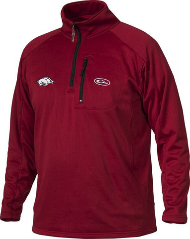 Arkansas Breathlite 1/4 Zip
