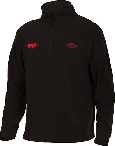 Arkansas Camp Fleece 1/4 Zip Pullover