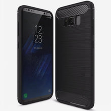 Soft Silicone Armor Shockproof Carbon Fibre Case