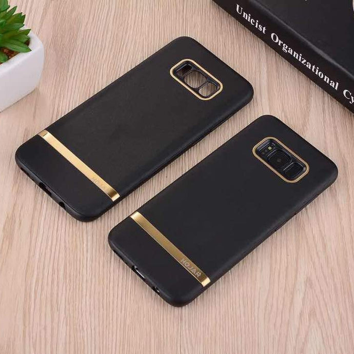 Luxury Business Style Leather Hard Back Case