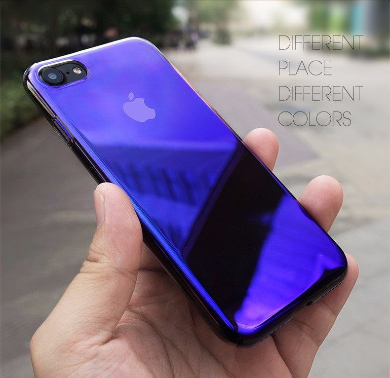Luxury Aura Gradient Color Changing Hard Case