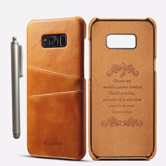 Business Style Luxury Genuine Leather Wallet Case