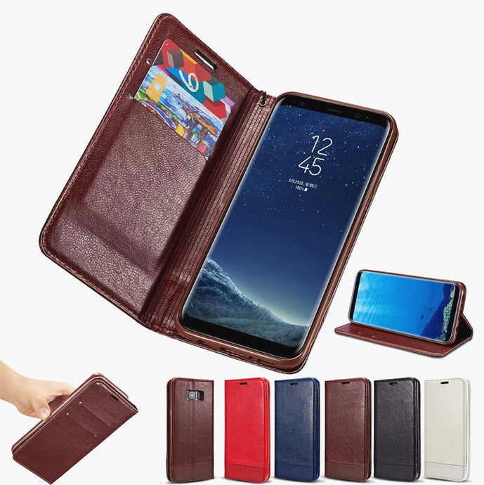 Original Slim Card Holder Flip Cover Case