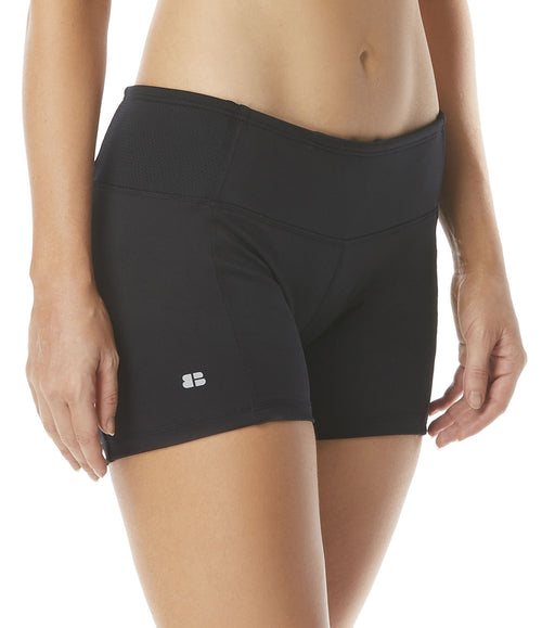 Swim/Active Wear Shorts Hidden Pocket for Keys or Cash Inner Drawcord for the Perfect No-Slip Fit Quick Dry Technology 50+ UPF protection Breathe Easy, Lightweight Fabrics for Comfort 4 Way Stretch Chlorine Resistant Fabric: 87% Polyester/13% Spandex Product Number: H58146