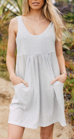Island V-Neck Tunic Cover Up