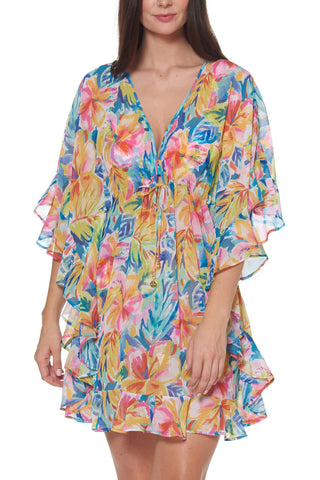 True Blue Tunic Cover Up