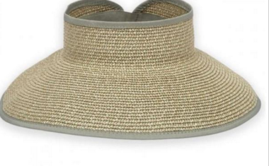 Green Wide brim for extra sun protection Adjustable to fit most head sizes Open top