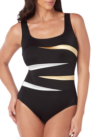 Montego High Neck One Piece