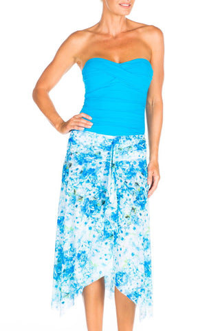 Blu Kiss V-Neck Cabana Dress