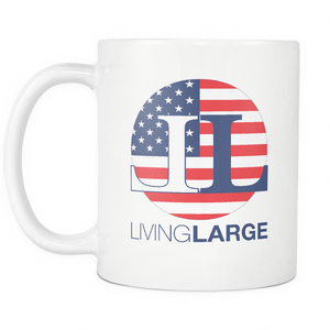 Living Large  11oz White Mug