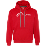 Living Large - The King James White Peak Collection Heavyweight Fleece Sweatshirt