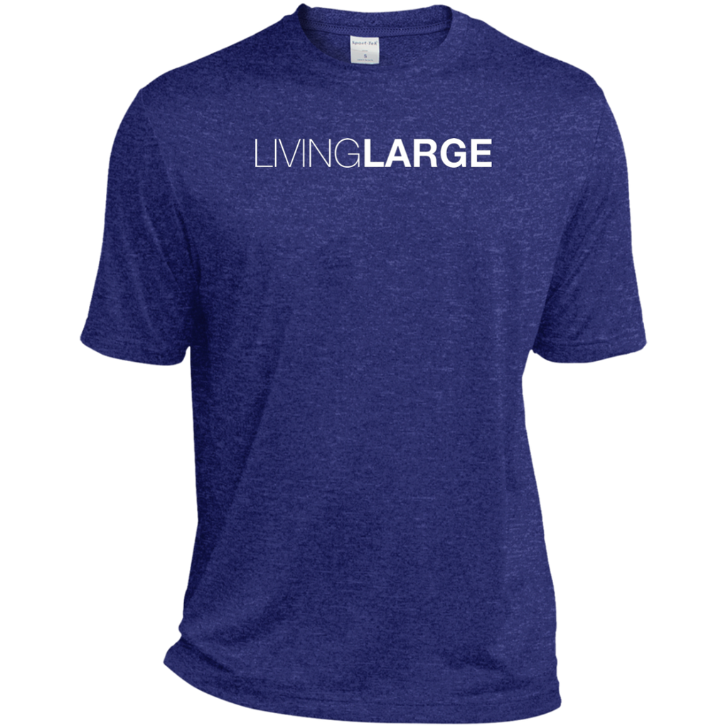 Living Large - The Simply Sporty Heather Dri-Fit Moisture-Wicking T-Shirt