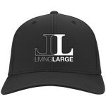 Living Large - Flex Fit Twill Baseball Cap