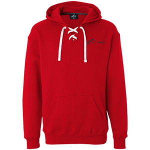 Living Large - The Hipster Helen Peak Heavyweight Sport Lace Hoodie