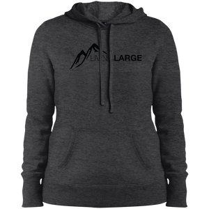 Living Large - The Simply Sporty Peak Collection Ladies Pullover Hooded Sweatshirt