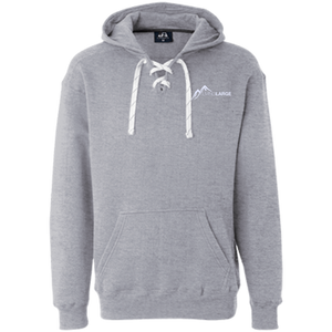 Living Large - The Hipster Helen White Peak Sport Lace Hoodie