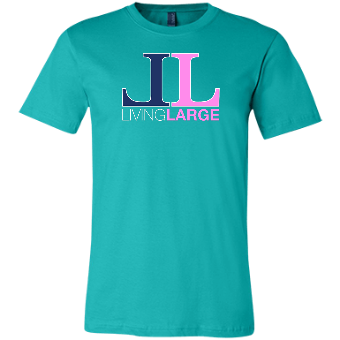 Living Large - The Blissful Bella Elizabeth Collection Unisex Short-Sleeve T-Shirt