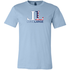 Living Large - The Blissful Bella All American Unisex Jersey Short-Sleeve T-Shirt