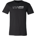 Living Large - The Bella All Day Everyday - Unisex Fitted T-Shirt