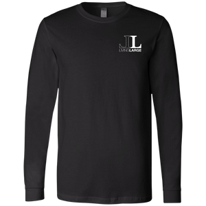 Living Large - The Blissful Bella Haters Fueling My Fire Long Sleeve Motivational T-Shirt