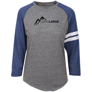 Living Large - The Majestic Martha Peak Heathered Vintage T-Shirt