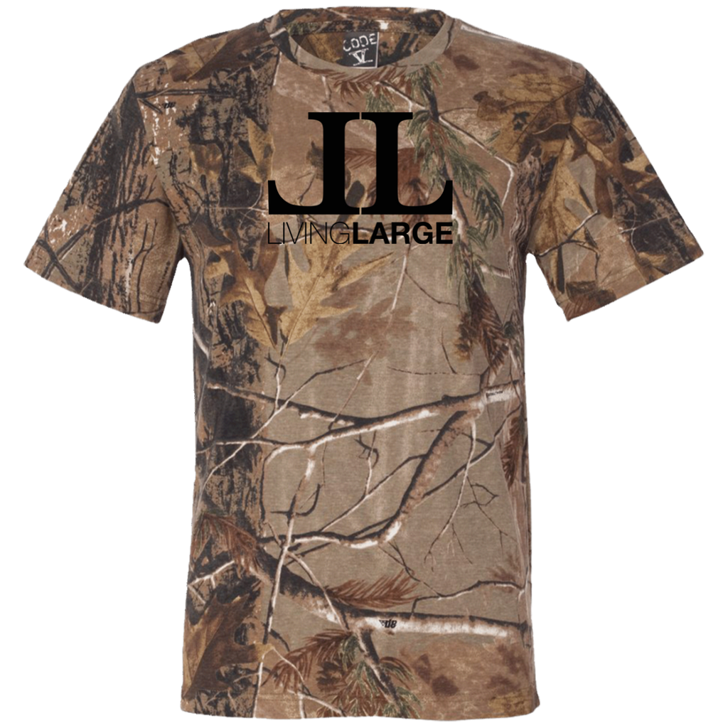 Living Large - The Blackout Short Sleeve Camouflage T-Shirt