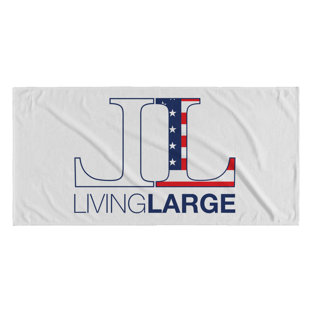Living Large American Dream Beach Towel