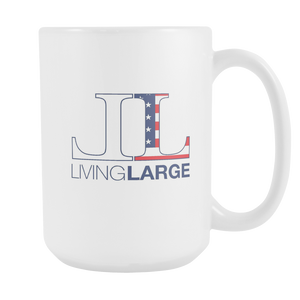 Living Large 15oz White Mug