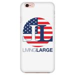 Living Large iPhone 7/7s American Flag Cell Phone Case