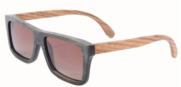 INCARTA Bamboo Polarized Sunglasses