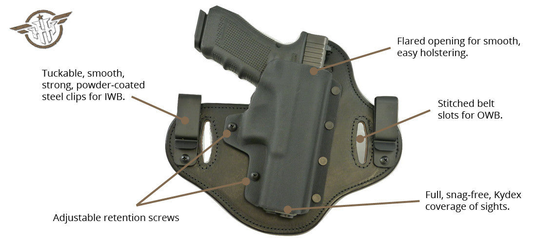 Concealed Carry Holsters | Hidden Hybrid Holsters | Made in